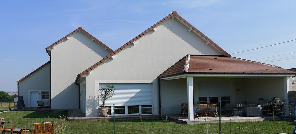 Maison bois bbc binges 21 esquisse bois for Construction bois 21