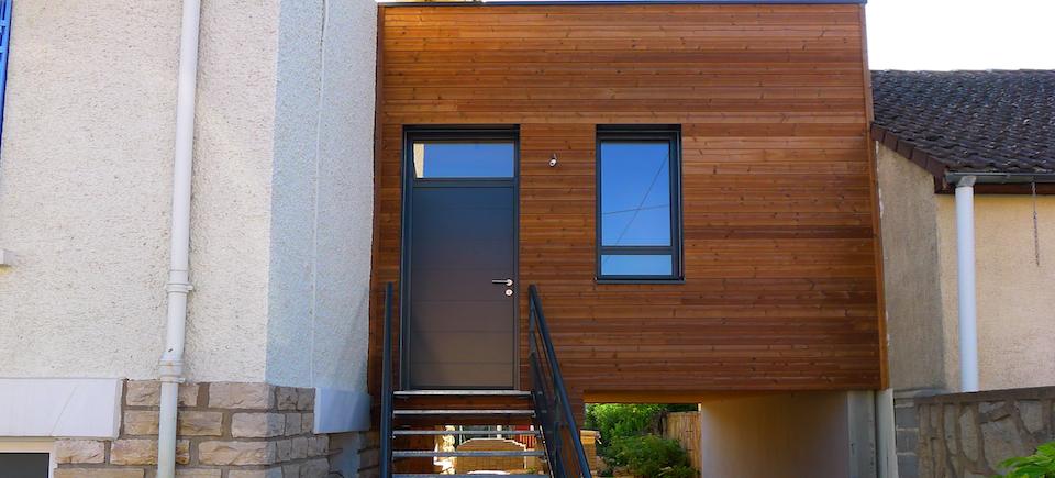 extension r novation mob bbc dijon esquisse bois. Black Bedroom Furniture Sets. Home Design Ideas