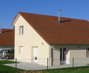 Maisons groupées BBC - Villegusien (52)
