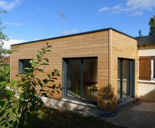 Extension Rénovation Ossature Bois BBC - Talant (21)