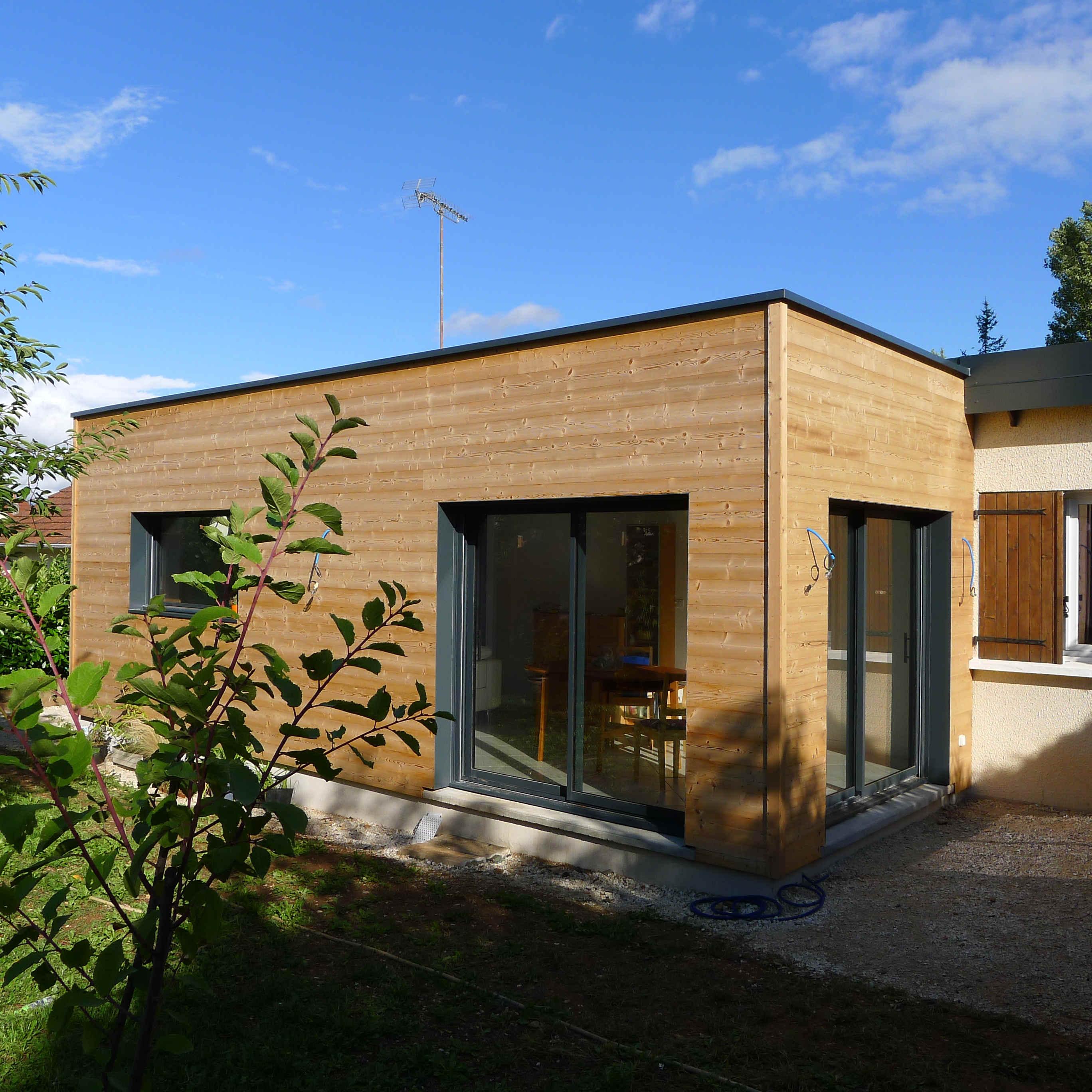 extension r novation ossature bois bbc talant 21 esquisse bois. Black Bedroom Furniture Sets. Home Design Ideas