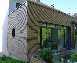 Extension Rénovation Ossature bois BBC dijon