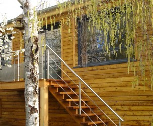 Extension Rénovation Ossature Bois BBC - Chevigny (21)