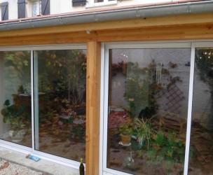 Extension Rénovation Ossature Bois BBC - Dijon (21)