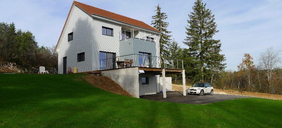 Construire deux maisons sur un terrain trendy achat for Construire une maison sur un terrain de 100m2