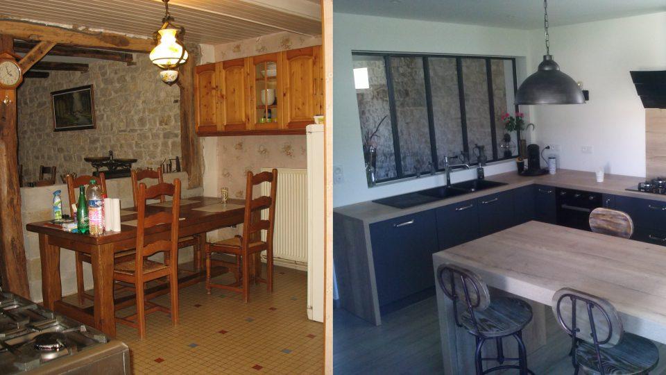 r novation maison saint l ger triey 21 esquisse bois. Black Bedroom Furniture Sets. Home Design Ideas