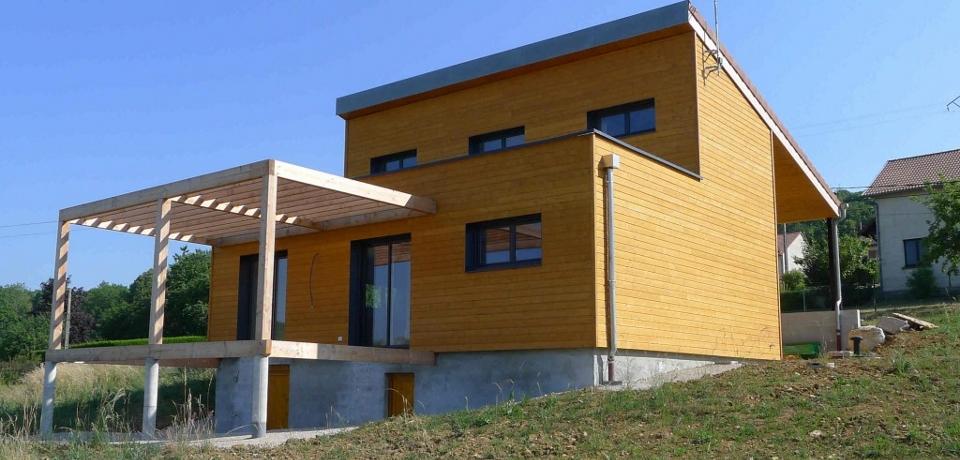 esquisse bois conception et construction de maison bois. Black Bedroom Furniture Sets. Home Design Ideas